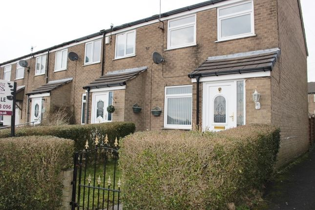 Thumbnail End terrace house for sale in Brosscroft Village, Hadfield, Glossop