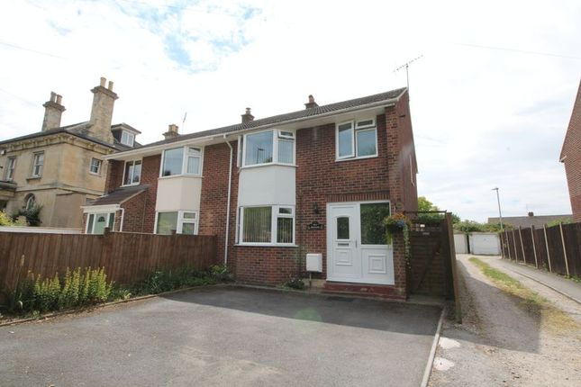 Thumbnail Semi-detached house for sale in Howard Place, Hucclecote, Gloucester