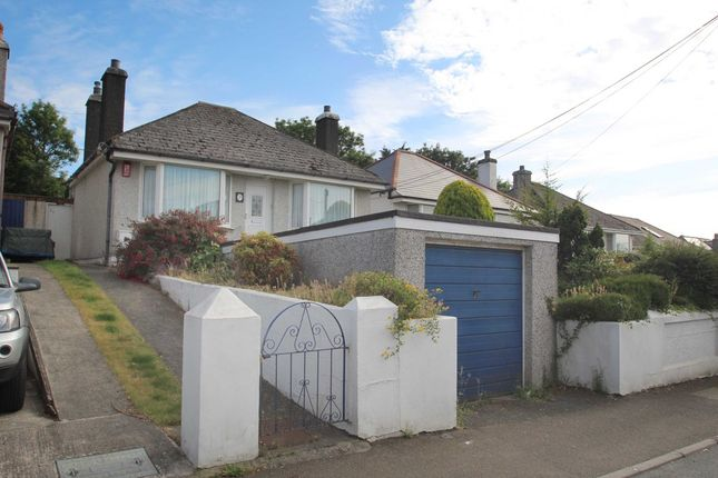 Thumbnail Detached bungalow for sale in Long Park Road, Saltash