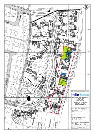 Site Plan of Milldale Road, Farnsfield, Newark NG22