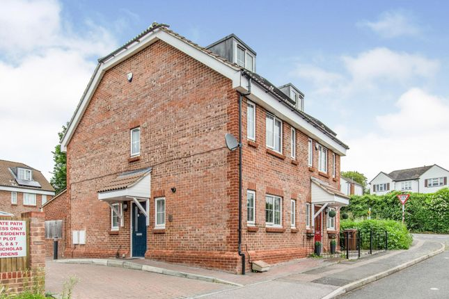 Thumbnail Semi-detached house for sale in St. Nicholas Gardens, Rochester