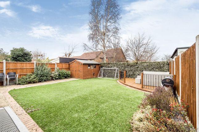 Rear Garden of Felipe Road, Chafford Hundred, Grays RM16