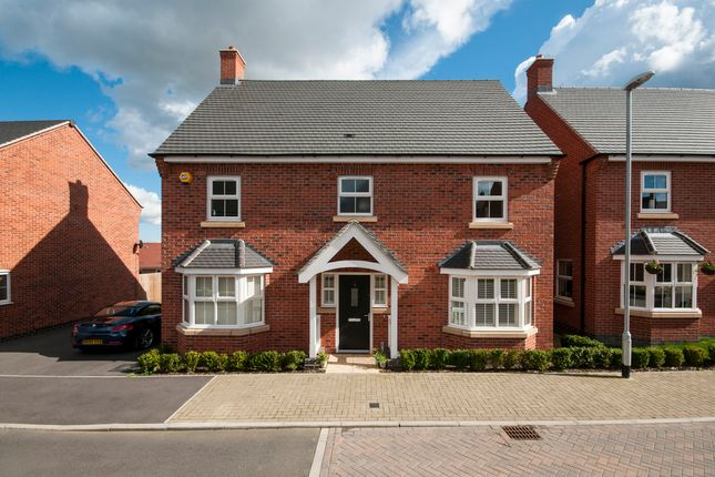 Thumbnail Detached house for sale in Lightning Lane, Castle Donington, Derby