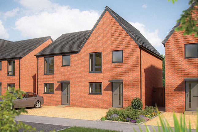 """Thumbnail Semi-detached house for sale in """"The Eveleigh"""" at Whitecotes Lane, Chesterfield, Derbyshire, Chesterfield"""