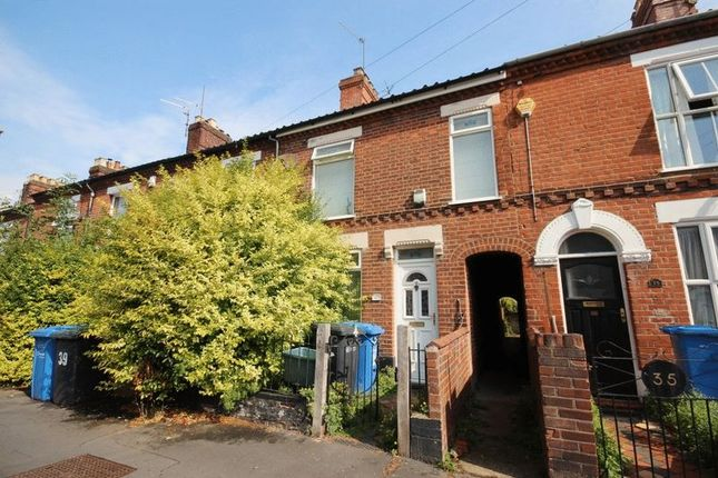 Thumbnail Terraced house for sale in Clarke Road, Norwich