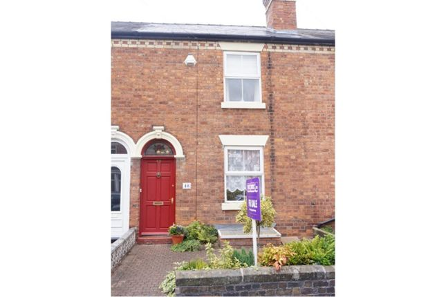 Thumbnail Terraced house for sale in Percy Street, Shrewsbury