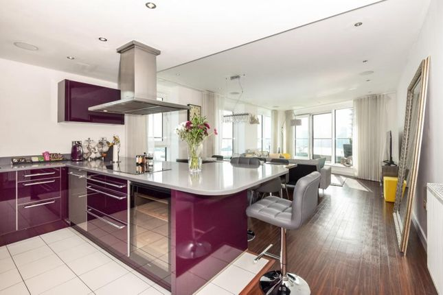 Thumbnail Flat for sale in Alaska Apartments, 22 Western Gateway, London