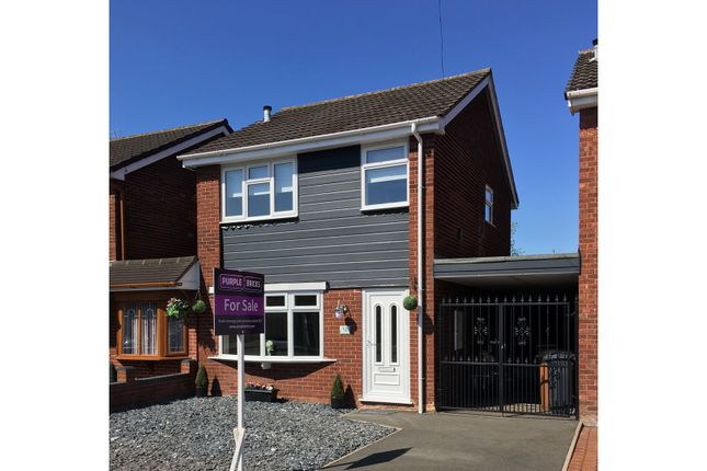 Thumbnail Link-detached house for sale in Greenhill Close, Willenhall