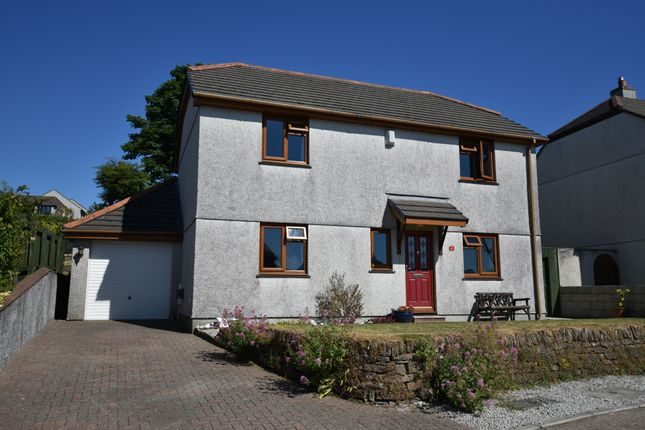 Thumbnail Detached house for sale in Mount Pleasant Close, Camborne
