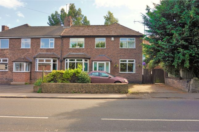 Thumbnail Semi-detached house for sale in Stapenhill Road, Stapenhill, Burton-On-Trent