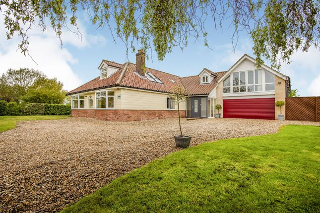 Thumbnail Detached house for sale in Besthorpe, Attleborough, Norfolk