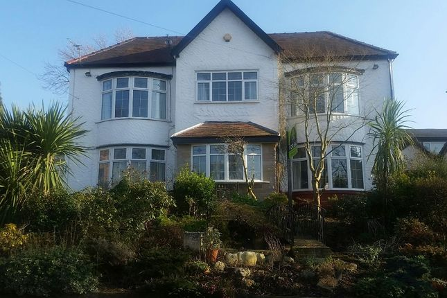 Thumbnail Detached house for sale in Woodhill Drive, Prestwich