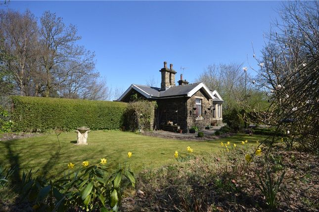 Thumbnail Detached bungalow for sale in The Lodge, Harrogate Road, Idle