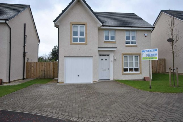 Thumbnail Detached house for sale in Craighall Bank, Kilmarnock