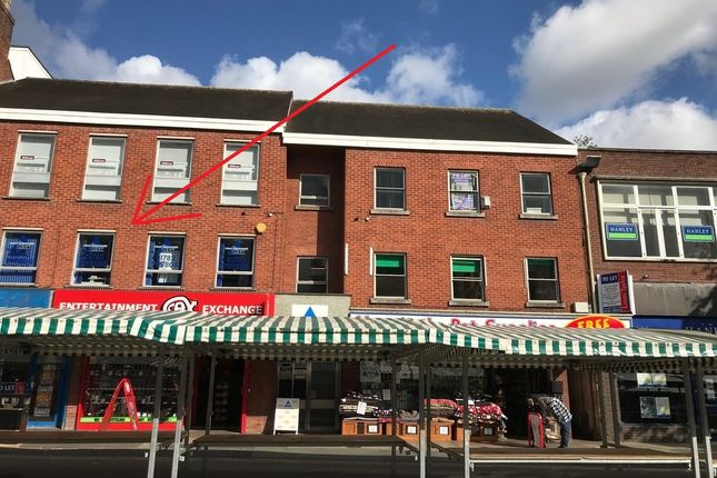 Office to let in First Floor, Suite 2, 79-79A High Street, Newcastle-Under-Lyme, Staffordshire