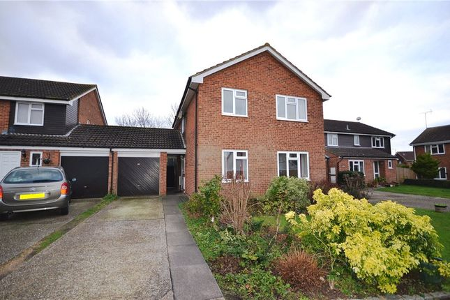 Thumbnail Detached house for sale in Caraway Road, Earley, Reading