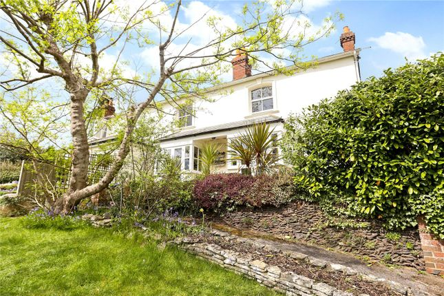 Thumbnail Semi-detached house for sale in Lodge Hill Road, Lower Bourne, Farnham, Surrey