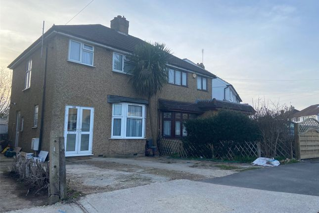 Thumbnail Semi-detached house to rent in Dickens Avenue, Uxbridge, Greater London