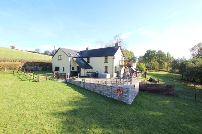 Thumbnail Detached house for sale in Trallong, Brecon
