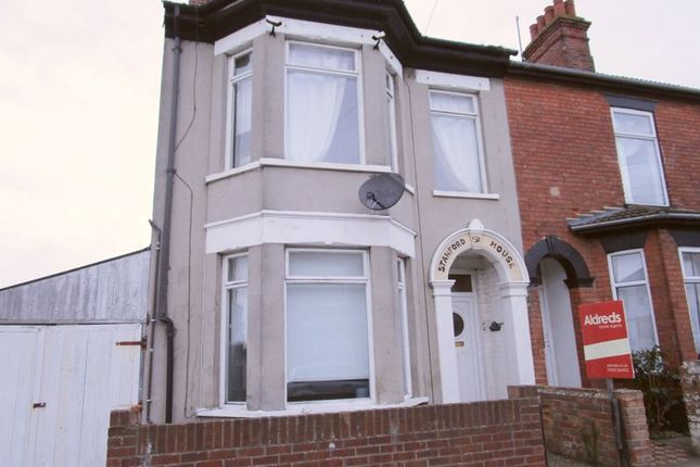 Thumbnail Terraced house to rent in Stanford Street, Lowestoft