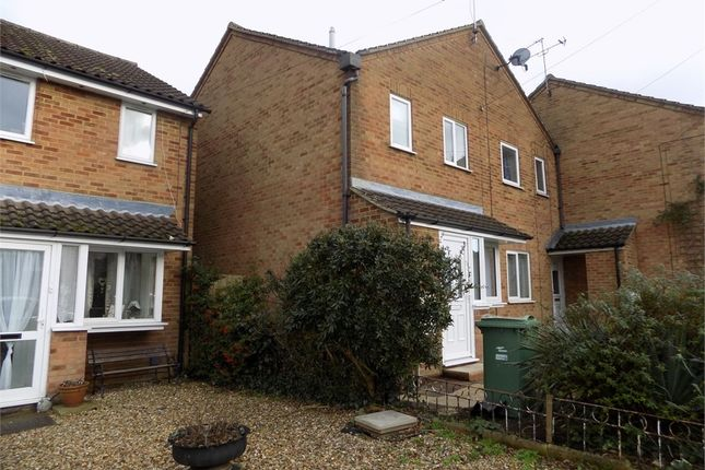 Thumbnail End terrace house to rent in Beaudesert, Leighton Buzzard, Bedfordshire