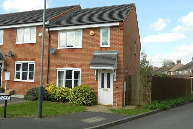 Thumbnail Semi-detached house to rent in Blossom Way, Southfields, Rugby, Warwickshire