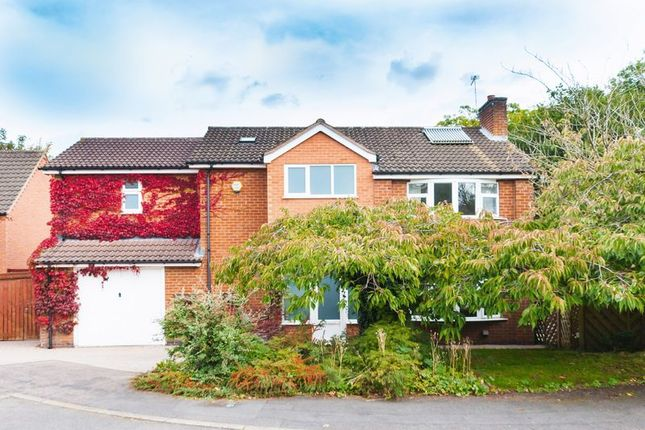 Thumbnail Detached house for sale in Rawlins Close, Woodhouse Eaves, Loughborough