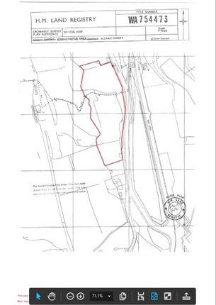 Thumbnail Land for sale in Land At Hall Street, Ebbw Vale, Blaenau Gwent
