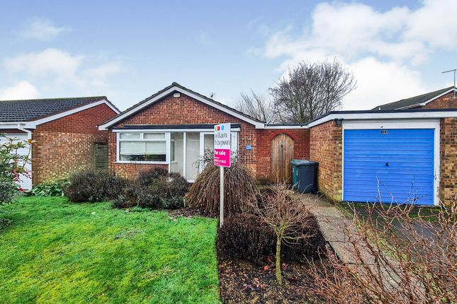 Thumbnail Detached bungalow for sale in Nathan Close, Longthorpe, Peterborough