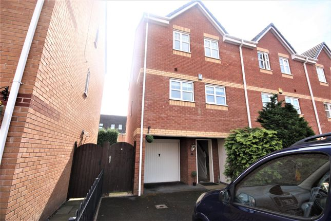 Thumbnail Town house for sale in Richardson Way, Rugeley