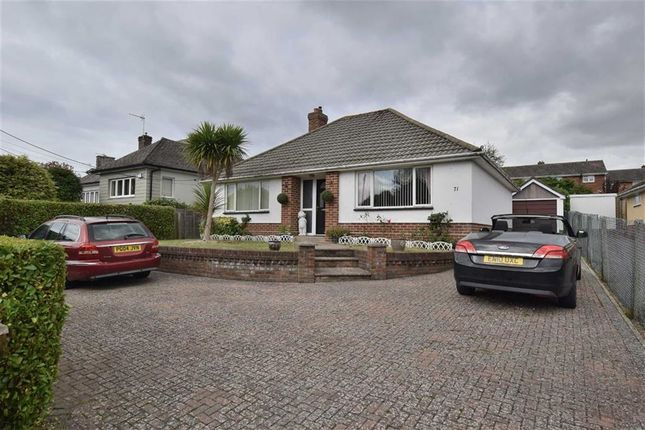 Thumbnail Detached bungalow to rent in Ashley Road, New Milton