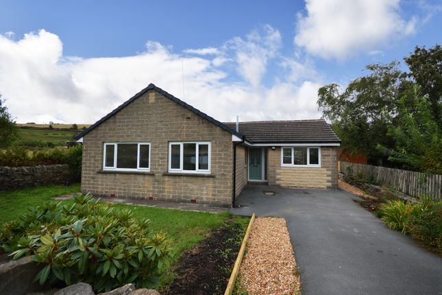 Thumbnail Detached bungalow for sale in Cinderhills Road, Holmfirth