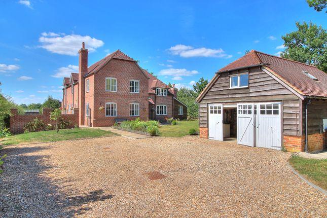 Thumbnail Detached house for sale in Baughurst Road, Baughurst, Tadley