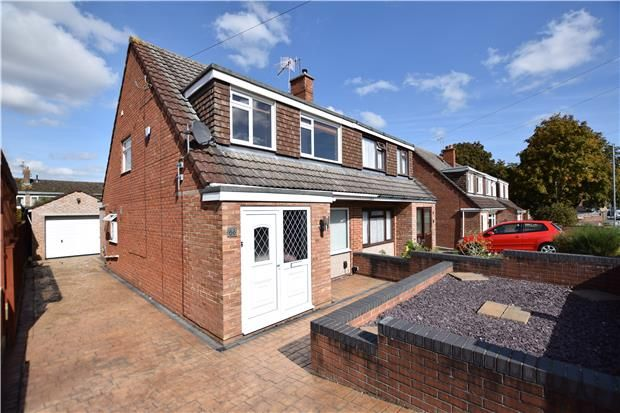 Thumbnail Semi-detached house for sale in Court Farm Road, Whitchurch, Bristol