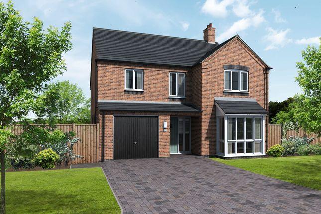 Thumbnail Detached house for sale in Edingale, Coton Road, Rosliston, Swadlincote