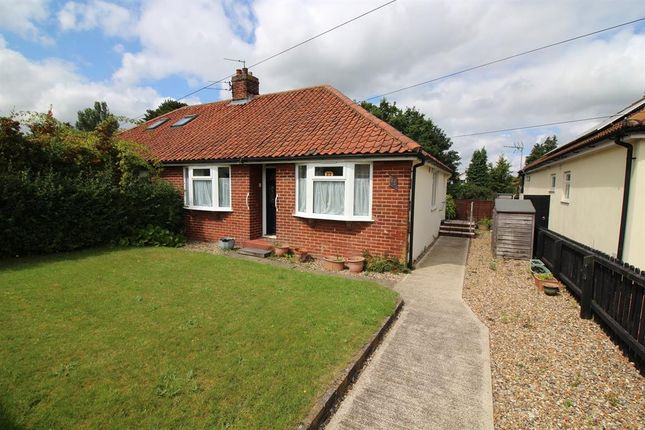 Thumbnail Semi-detached bungalow for sale in Hastings Ave, Norwich