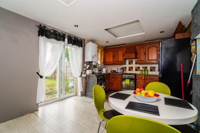 Kitchen of St Judes, Plymouth, Devon PL4