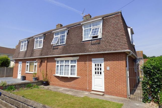 Thumbnail Semi-detached house for sale in St. Austell Road, Weston-Super-Mare