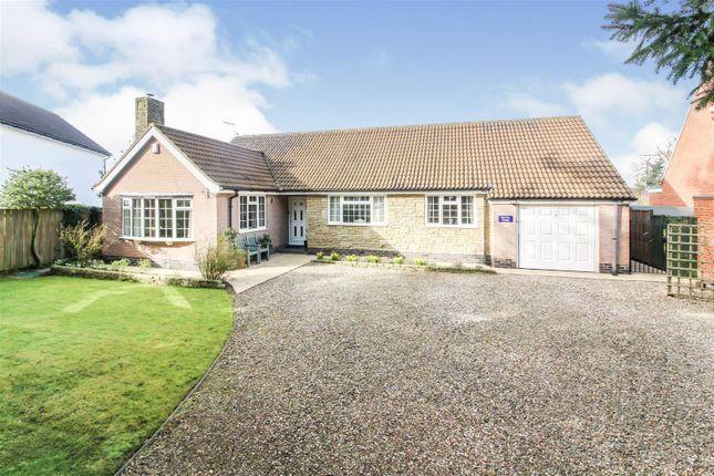 Thumbnail Detached bungalow for sale in Church Lane, Lockington, Driffield