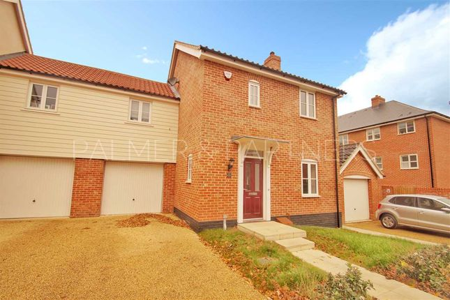 Thumbnail Link-detached house for sale in Brimstone Chase, Stanway, Colchester