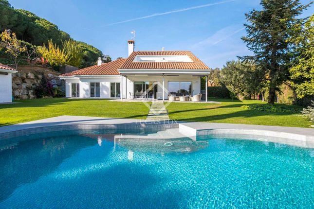 Thumbnail Villa for sale in Spain, Barcelona North Coast (Maresme), Sant Andreu De Llavaneres, Mrs8842