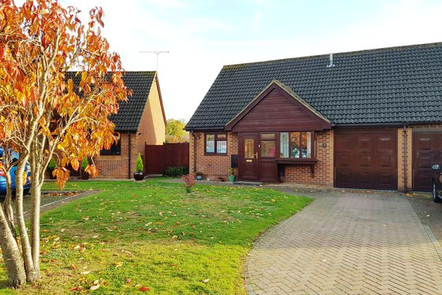 Thumbnail Semi-detached bungalow for sale in Robert Way, Mytchett, Camberley