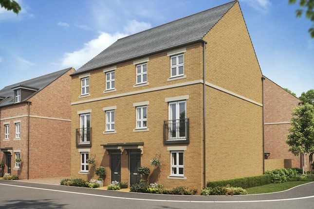 "Thumbnail Semi-detached house for sale in ""Leeman"" at Fetlock Drive, Newbury"