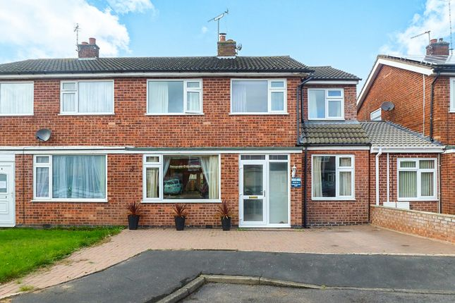 4 bed semi-detached house for sale in Kensington Close, Oadby, Leicester