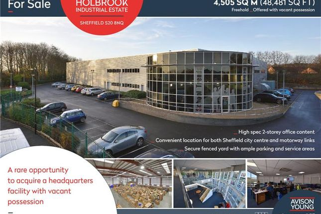 Thumbnail Office for sale in 10, Carley Drive, Westfield, Sheffield, South Yorkshire, UK