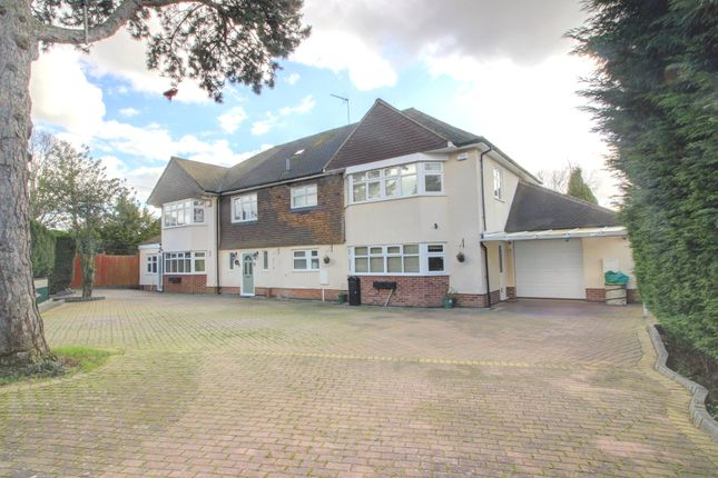 Thumbnail Detached house for sale in Granville Avenue, Oadby, Leicester