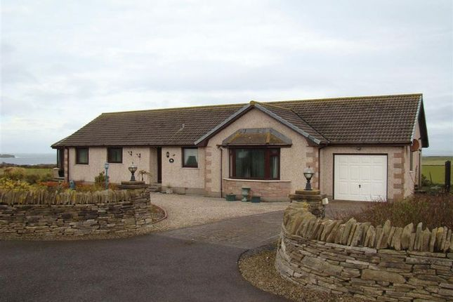 Thumbnail Detached bungalow for sale in Sairannen, Dixonfield, Weydale, Thurso, Caithness