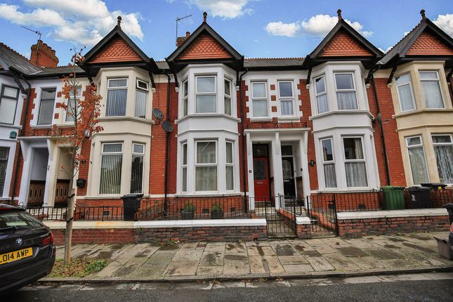 Thumbnail Terraced house for sale in Amesbury Road, Penylan, Cardiff