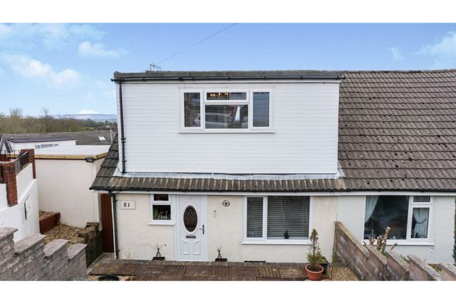 3 bed semi-detached house for sale in The Links, Pontypool NP4