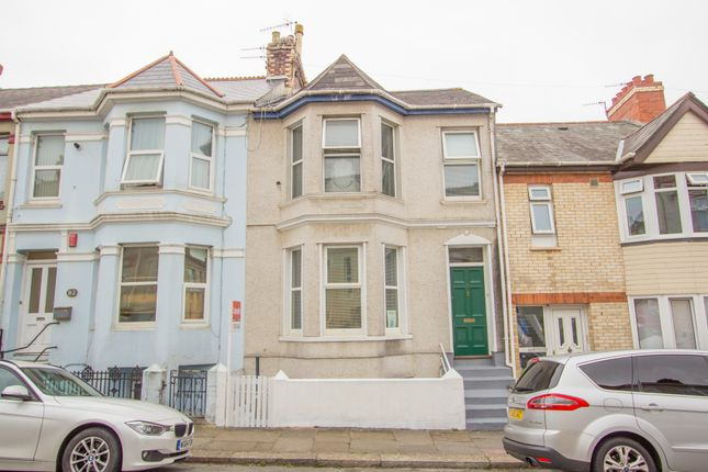 Thumbnail Terraced house for sale in South View Terrace, St Judes, Plymouth